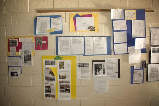 The timeline by Brandywine school