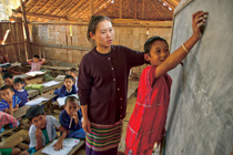 thai refugee school